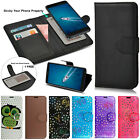 Universal Flip Wallet Leather Magnetic Stand Case Cover For Various Phone Models