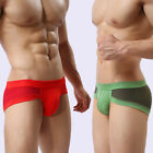 Fasion Sexy Men Modal Underwear Men's Boxers U-convex Panties Breathable Wear