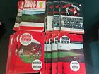 MANCHESTER UNITED HOMES 1966/7 to 1969/70  all with tokens  £2.49 EACH