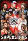 WWE SUPERSTARS - FRAMED SPORT POSTER (ROMAN REIGNS, THE ROCK, JOHN CENA)