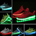 NEW Unisex 7 LED Light Lace Up Luminous Shoes Sportswear Sneaker Casual Shoes DZ