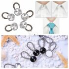 5/6pcs Flexible Spring Collar Button Extenders Expander for Dress Shirt Clothing