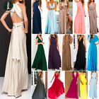 Women Formal Convertible Evening Ball Party Bridesmaid Long Maxi Dress Prom Gown