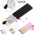 4pcs Makeup Brush Set Powder Foundation Eyeshadow Eyeliner Blending Brushes Tool