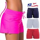 boy short bikini bottom - Women Shorts Plain Bikini Swim Swimwear Tankini  Boy Style Short Brief Bottoms S