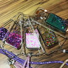Girl LED Flash Perfume Bottle Bling Liquid Quicksand Case For iPhone7 7Plus 6s
