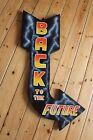 Back to the Future Custom Hand Painted Exit Arrow Sign Retro 80's Wallart