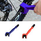 Motorcycle Cycling Bicycle Chain Wheel Cleaner Tool Cleaning Brushes Scrubber HX