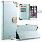 """Luxury Magnetic Wallet PU Leather Stand Case Cover for Apple iPhone 6/6S 4.7"""""""