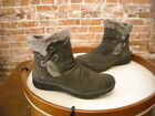 Bare Traps Adalyn Grey Suede Water Resistant Ankle Boots NEW