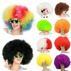 Afro Costume Wig Big Huge Giant 70s Disco Clown Halloween Fancy Dress Facial Ha