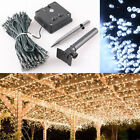100/200/300/500 LEDs Solar LED String Fairy Lights Indoor Outdoor Bright Holiday