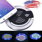 High Quality Qi Wireless Charger Charging Pad For Samsung Galaxy S7/S7 Edge BK