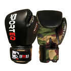 Sporteq Kids Army Boxing Punching Gloves Rex Leather Martial Arts Fight Training