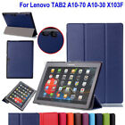 Slim Folio Leather Smart Cover Case Stand for Lenovo TB-X103F 10.1'' Inch Tablet