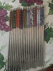 JAPANESE STAINLESS STEEL CHOPSTICKS  W/FREE SILK HOLDER-SPECIAL PRICE LIMIT TIME