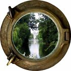 Huge 3D Porthole Enchanted Garden View Wall Stickers Mural Art Decal Wallpaper