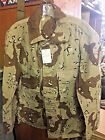 US MILITARY 6 COLOR DESERT CAMO BDU COAT SHIRT USED VINTAGE JACKET CHOC CHIP