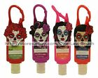 HALLOWEEN 1 oz Travel Size DAY OF THE DEAD Hand Sanitizer+Clip Case *YOU CHOOSE*