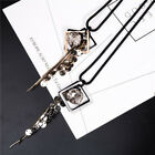 2017 Crystal Tassel Pendant Statement Long Chain Sweater Necklace Jewelry MZZ