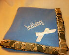 Military Camo Fleece Cuddly Baby blanket choose Army Air Force Marines add name