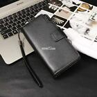 New Fashion Men Casual Synthetic Leather Wallet Card Holder Money Clip S0BZ