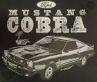 T-Shirt #741 MUSTANG COBRA V8 HotRod Old School Musclecar DRAGRACING USA