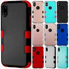 For Apple iPhone 8 IMPACT TUFF HYBRID Protector Case Skin Phone Covers Accessory