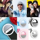 Selfie LED Ring Fill Light Camera Photography For IPhone Android Phone HOT!!