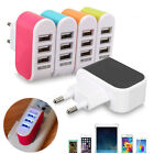 Universal 3 USB Ports Home Travel Wall AC Power Charger Adapters US/EU Plug UK