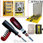 Precision Torx Hex Ratchet Screwdriver Socket Bits Set Mobile Repair Tools Kit