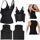Zipper Sweat Sauna Body Shaper Women Slimming Vest Thermo Neoprene Waist Trainer