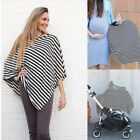 2in1 Breastfeeding Baby Car Seat Canopy Cover Nursing Scarf Cover Up Apron GIFT