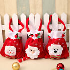 Santa Claus Snowman Deer Christmas Candy Bags Stocking Gift Bag Xmas Decoration