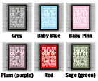 YARLEY - BOY/GIRL FRAMED WORD TEXT ART PICTURE POSTER Somerset