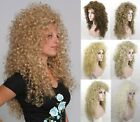 """WOMENS LONG TIGHT SPIRAL CURLS CURLY LIONESS WIG 28"""" VICTORIAN CHER MERIDA MAUI"""