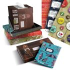 GIFT WRAP FOR BOOKS - BRAND NEW - CHOICE OF 4 DESIGNS