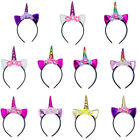 Magical Unicorn Horn Party Kid Girls Hairband Headband Fancy Dress Cosplay Decor
