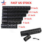 "7""/9""/10""/12""/13.5""/15"".223/5.6 KEYMOD Handguard Ultra Slim Free Float Quad Rail"