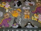 DOG BANDANA Over Collar XS-L HALLOWEEN CATS IN COSTUMES Witch Dinos Pumpkins NEW