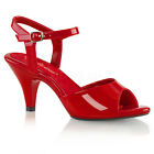 Red Pink Junior Bridesmaid Low Heels Prom Pageant Formal Shoes size 5 6 7 8 9