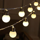 110V/220V 20 LED Color String Fairy Lights For Xmas Wedding Party Home Decor US