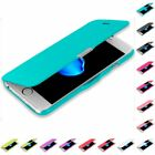 For iPhone 8 Plus Magnetic Slim Executive Wallet Pouch Case Cover Window