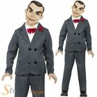 Official Goosebumps Boys Slappy Dummy Costume Halloween Child Fancy Dress Outfit