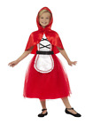 Deluxe Red Riding Hood Costume Fairytale Character Fancy Dress Costume