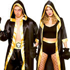 Boxer Adults Fancy Dress Sports Knockout Champion Wrestler Fighter Costumes New