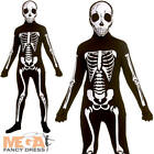 Skeleton Skinz Kids Fancy Dress Halloween Skull Second Skinsuit Childs Costume