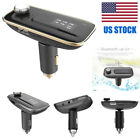 LCD Bluetooth Car Kit MP3 FM Transmitter USB Charger For iPhone Android Phone
