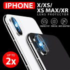 9H Hardness Back Camera Lens Tempered Glass Film Protector For iPhone (X) 8 Plus