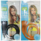 "HAIR U WEAR*16"" CLIP-IN COLOR STRIPS Extensions 100% FINE HUMAN HAIR*YOU CHOOSE*"
